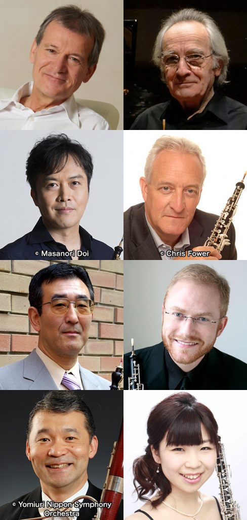 """The 12th INTERNATIONAL OBOE COMPETITION OF JAPAN 2018 in Tokyo"" Prize Winners & Jury Concert"
